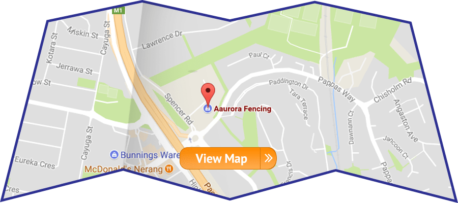 Fencing - Gold Coast - Aaurora Fencing - Site Map