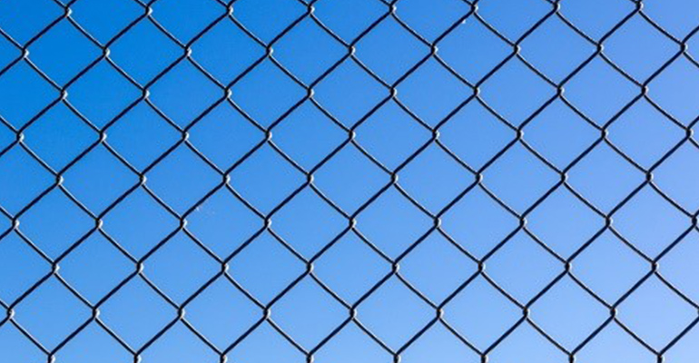 Chain-wire-fence