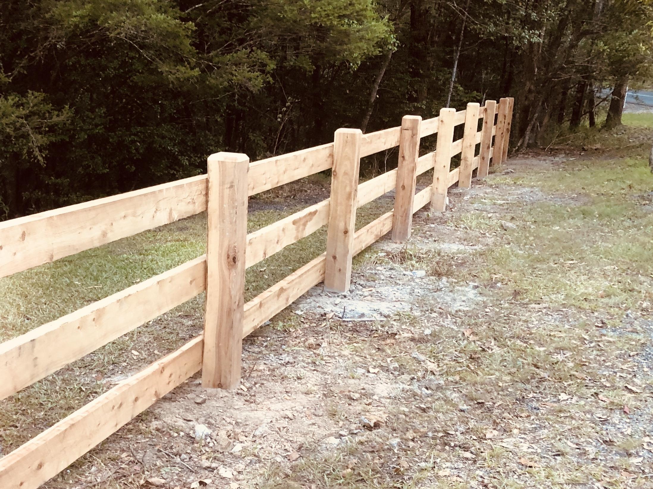 3 Rail Timber