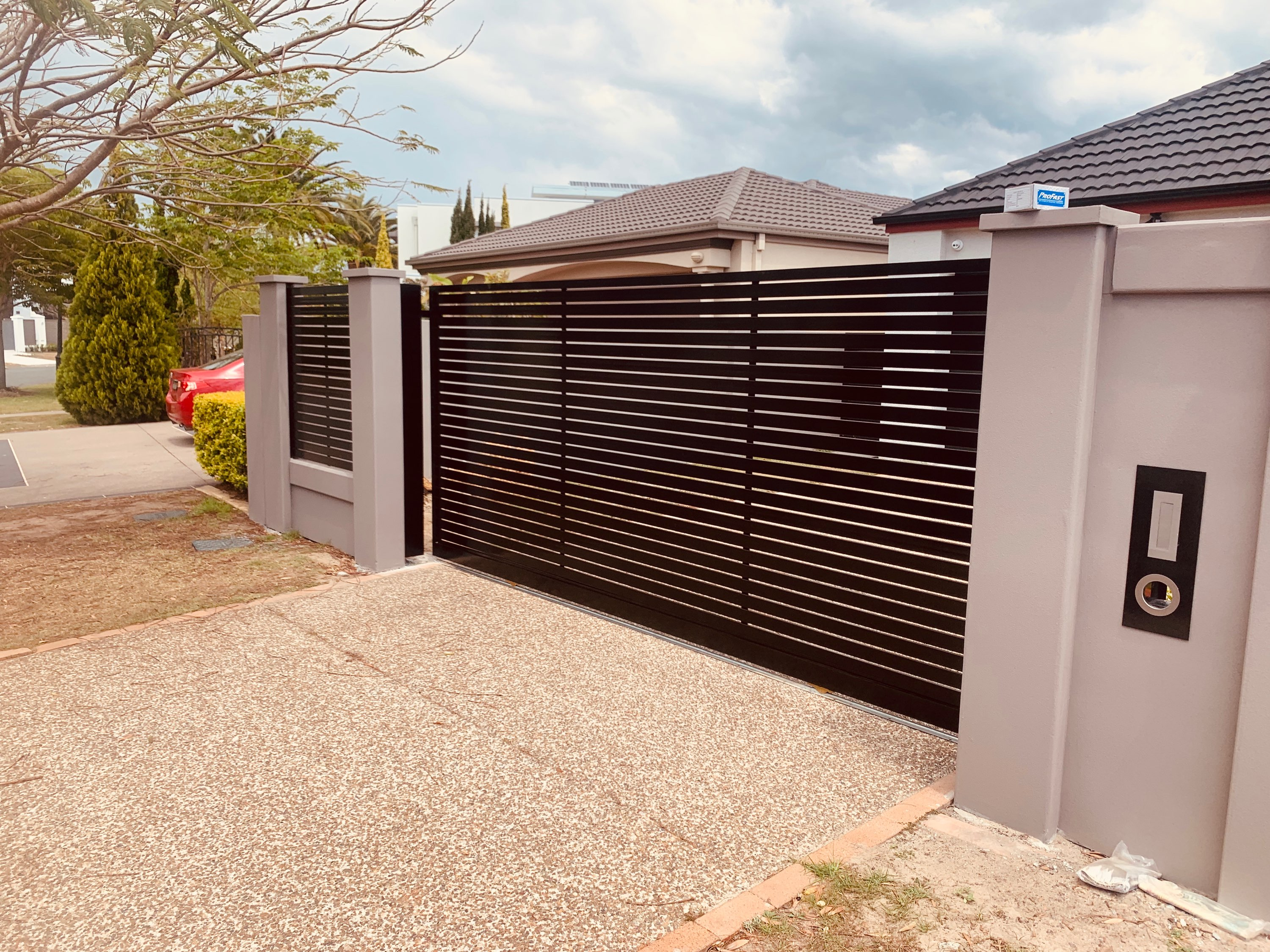 Slat Sliding Gate